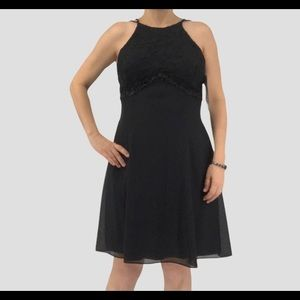 Vintage Scott McClintock little black dress